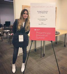 Saving civil society in the digital age at Stanford Philanthropy Innovation Summit 👩🏻💻 Lab Tech, Mira Duma, Civil Society, Miroslava Duma, Her Style, Civilization, Innovation, Street Style, Style Inspiration