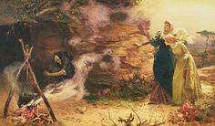 "Edward Frederick Brewtnall  (British, 1846–1902) - ""Visit to the Witch"", 1882"