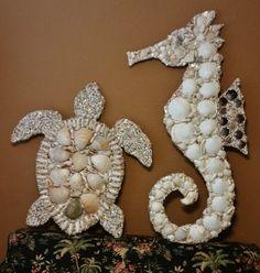 Sea Turtle & Sea Horse