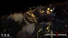 Gaslight Batman, as featured in the new Infinite Crisis videogame