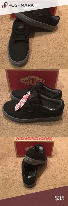4cf79c494be9 Vans Atwood Check Liner Sneakers New in box. Black Gray Vans Shoes Sneakers  Van