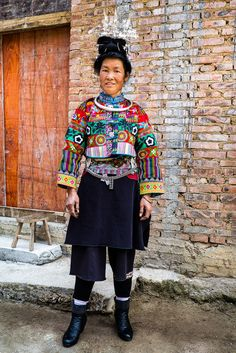 All sizes | Lady of Gaoyao village - Bazhai Miao | Flickr - Photo Sharing!