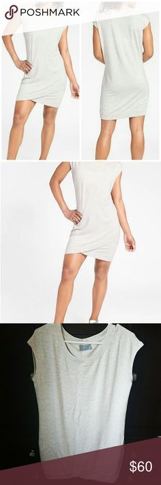 NWOT Athleta short sleeve criss cross dress NEVER WORN!!!     Our Criss Cross Dress now comes with short sleeves so it's perfect for when you want to throw on a sweatshirt and call it a day-or an outfit. INSPIRED FOR: workout To Fro, studio To Fro, adventure To Fro Tulip-edged front ups the ante of your sweatshirt game Rib-knit cuffs and hem Crew neck, raglan sleeves give you room to move Athleta Dresses