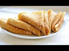 Rețeta de clatite/varianta usoara si rapida - YouTube Deserts, Sweets, Cooking, Ethnic Recipes, Youtube, Food, Kitchen, Gummi Candy, Candy