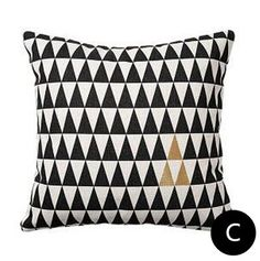 Black geometric throw pillows for living room golden letters decorative cushions Decorative Cushions, Letters, Throw Pillows, Living Room, Black, Toss Pillows, Cushions, Black People, Letter