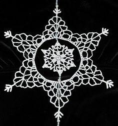 Snowflake inside a snowflake