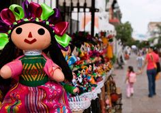 Típicas muñecas mexicanas - Artesanía de México