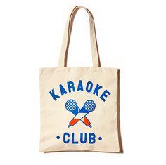 Karaoke Club Tote #Bag by Club Petanque