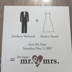 Caaaautest save the date card!!!