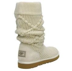 Simple white Ugg boots.Cheap and comfortable.,