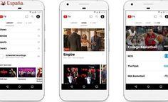 YouTube lanza 'YouTube TV', su servicio de TV de pago por 35 dólares al mes
