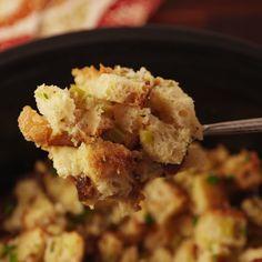 No stress stuffing. #food #familydinner #dinner #comfortfood #easyrecipe #recipe #inspiration #holiday #wishlist #diy