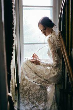 Moody, sensual wild-spirited bridal shoot via Magnolia Rouge