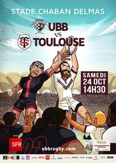 UBB - Toulouse, samedi 24 octobre, 14h30