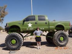 Big truck in Iraq!