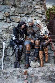 Fandom: The Witcher 3 Photographer: Alexander Bocman Character: Geralt, Yennefer and Ciri Country: Ukraine