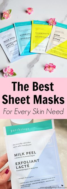 The Best Sheet Masks for Every Skin Need - Kindly Unspoken