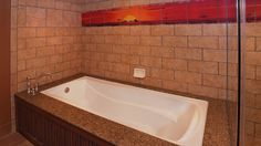Tub and tiles with The Lion King design
