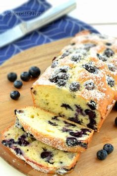 Cooking Recipes, Healthy Recipes, Loaf Cake, Cake Cookies, Blueberry, Cake Recipes, Good Food, Food And Drink, Bread
