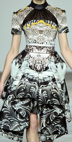 Mary Katrantzou conversational printed dress