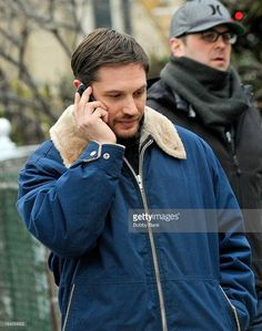Tom Hardy filming on location for 'Animal Rescue' on March 22, 2013 in New York City.