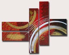 pinturitas (eli padilla): Polipticos Abstractos y minimalistas