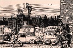 Dibujos de BLUES, por Robert Crumb