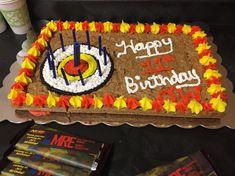 Nerf Cookie Birthday Cake Laser Tag Birthday, Nerf Birthday Party, Nerf Party, 11th Birthday, Birthday Party Decorations, Birthday Ideas, Nerf Cake, Cookie Cake Birthday, Party Themes For Boys