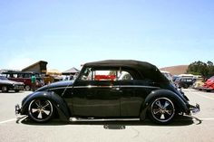 Sweet stanced VW Convertible