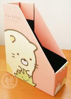 Rangement de bureau kawaii avec les créatures de Sumikko gurashi de la marque japonaise San-X  - Boutique kawaii en ligne www.chezfee.com