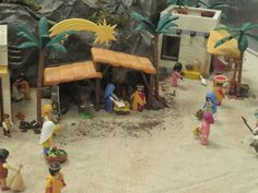 Un Belén de Playmobil en Madrid - Conmimochilacuestas