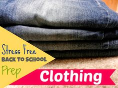 Kristin Sterk: Stress-Free Back To School Prep: Clothing