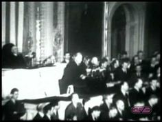 """President Franklin D. Roosevelt   Declaration of War Address   """"A Day Which Will Live in Infamy"""""""