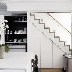 55 amazing space-saving kitchens under the stairs | table settings