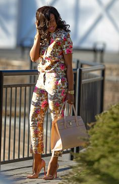 Spring Floral by Jadore-Fashion