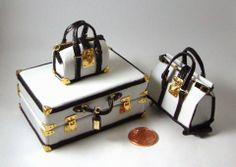 One twelve scale luggage by by Isabel Manzano