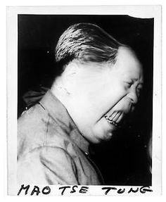Weegee (Arthur Fellig H.) Mao Tse Tung c. 1960 http://semioticapocalypse.tumblr.com/