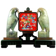 Fantabulous Oriental Art Deco Clock