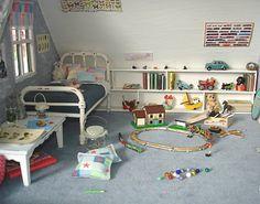 miniature boys room