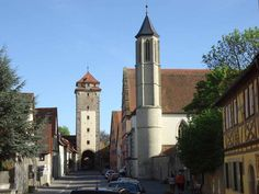 Southern-gate of Rothenburg, Germany.