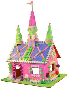 Going to Marbles Museum for Gingerbread house decorating and this is one of the ideas.  My little girl love to be a Princess!