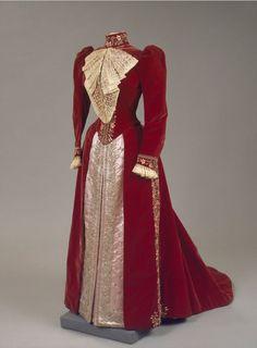 Worth dress of Empress Maria Feodorovna, 1890's