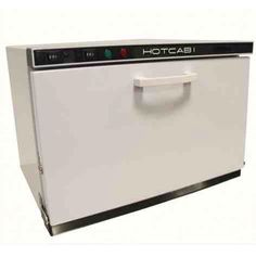 Dual hot towel cabinet and UV sterilizer available at Alamo Barber and Beauty Supply for only $199.95!!!