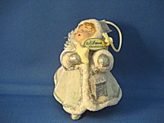 Vintage Victorian Child Angel Ornament