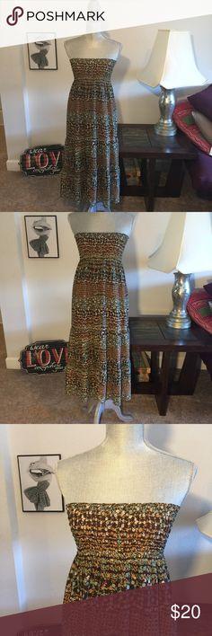 HeartSoul convertible dress skirt! Excellent condition bohemian skirt/dress HeartSoul Dresses