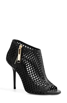 Burberry+'Barmby'+Cutout+Open+Toe+Bootie+(Women)+available+at+#Nordstrom