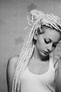in love with her dreads