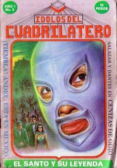 Santo El Enmascarado de Plata la Fotonovela Wrestling, Superhero, Art, World, Female Fighter, Lucha Libre, Mexicans, Legends, Tools