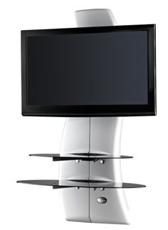 Meliconi Ghost Design 2000 Support mural pour TV Plasma / LCD Blanc: Amazon.fr: High-tech