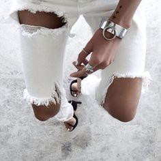 denim, vogue, and jeans image Asos, Flare, Street Style, Fashion Moda, 90s Fashion, Indie Fashion, Fashion Days, White Fashion, Fashion Killa